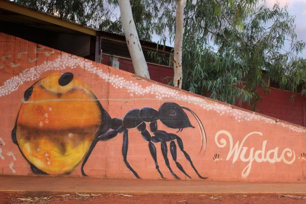 honeypot ant WYDAC mural