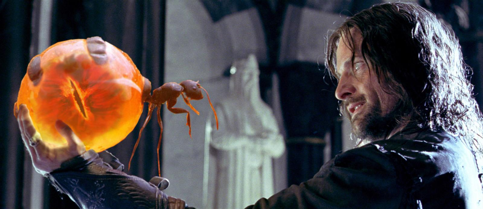 Aragorn and the palANTir